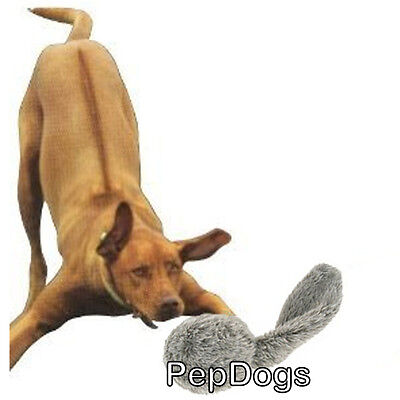 Hyper Pet DOGGIE TAIL Crinkle Barking Wiggly Bouncing Dog Toy MOTION ACTIVATED