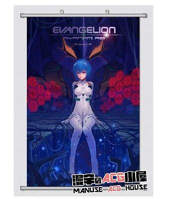 Neon Genesis Evangelion Ayanami Rei Home Decor Japanese Poster Wall Anime EVA290