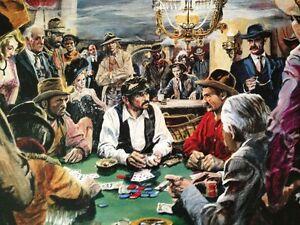 Doug-Wildey-Poster-Print-Johnny-Behind-The-Deuce-Saloon-Poker-Cowboys-Western