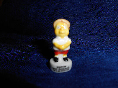 MARTIN PRINCE Mini Figurine FRENCH Porcelain FEVES Tiny Figure SIMPSONS SCHOOL