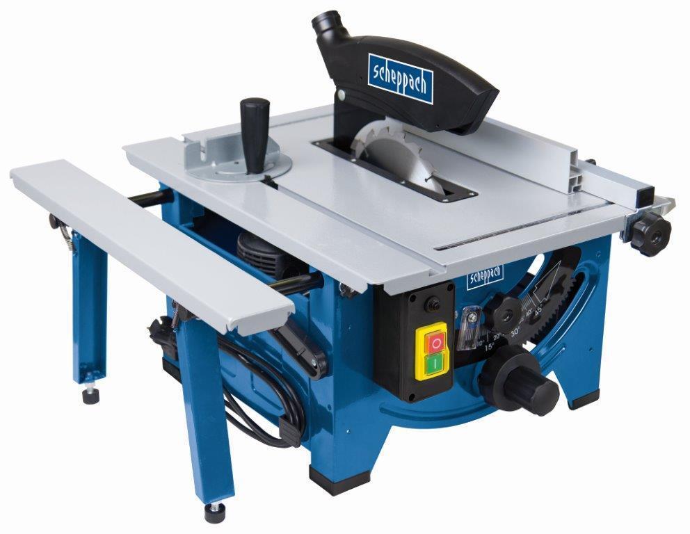 Scheppach Tischkreissäge HS80 230V mit ausziehbarer Tischverbreiterung