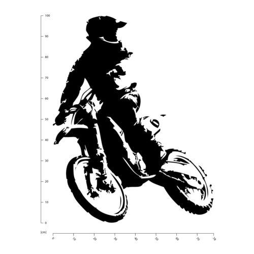 Motocross Bike Motorbike Wall Sticker WS-17532