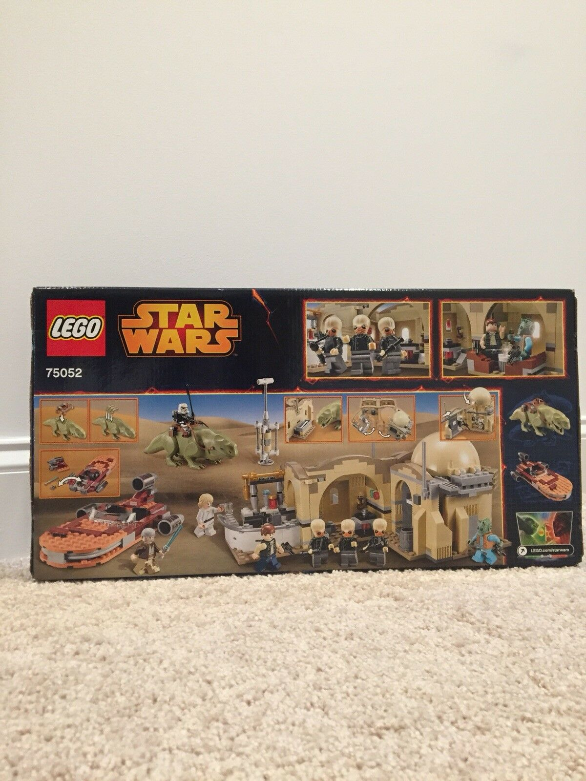 New & Sealed LEGO Star Wars Set 75052 Mos Eisley Cantina RETIROT