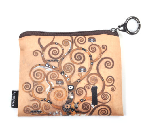 Gustav Klimt The Tree of Life Zipper Purse