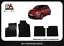 miniatura 1 - Tappetini Fiat 500 in moquette battitacco in plastica tappeti auto 4 pezzi