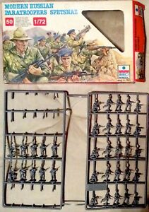 ObéIssant Ss Esci 240 (scala 1/72) - Modern Russian Paratroopers Spetsnaz (scatola Incompl Prix Fou