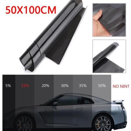 50x100cm 35/% VLT Black Car Home Office Glass Window Tint Tinting Film Roll