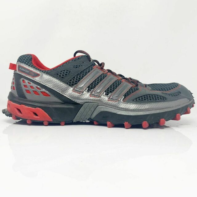 Diálogo Ernest Shackleton Hacia abajo  adidas Kanadia 8 TR Mens Red Black Trail Running Sports Shoes Trainers  PUMPS 6.5 for sale online | eBay