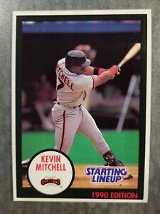 Kevin Mitchell San Francisco Giants 1989 Starting Lineup Kenner Baseball Card