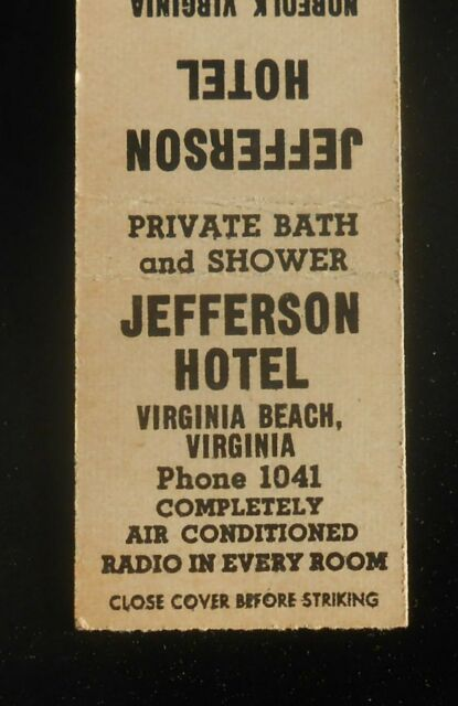 1930s Jefferson Hotel Phone 1041 Radio In Every Room