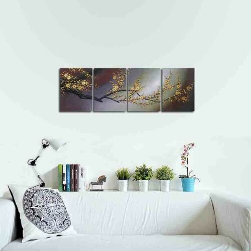 Canvas Print Paintings Pictures Home Decor Wall Art Floral Plum Blossom Trees