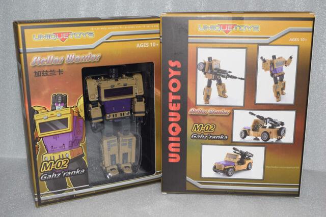 New Transformers Unique toys Bruticus UT M-02 Gahz/'ranka G1 SWINDLE Reprint