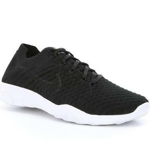 49a54e0dc75ff Nike Size 8.5 TR Flyknit 2 Black White Training Shoes 904658 001 for sale  online