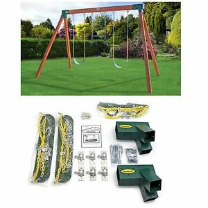 Swing Set Hardware Kit A Frame Classic Free Standing Diy Play Set