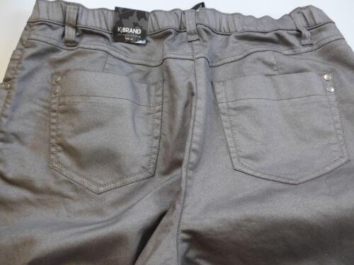 Toni 54 42 Kjbrand Metallischer Di Pantaloni Tgl Stoffa 467 U0qxBvfw