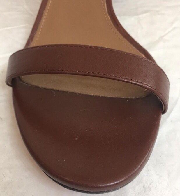 Aquazzura Gold Braun Spin Me Around  Sandals Gold Aquazzura Ankle Strap  Size 39 1/2 131ed6