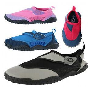 8acd8600c4b6 Boys Girls Mens Womens Surf Aqua Shoes Beach Swim Water Shoes ...