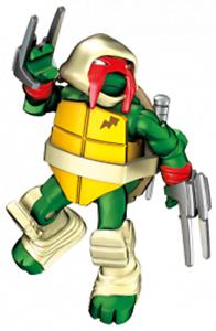RED RAPHAEL VISION Teenage Mutant Ninja Turtles TMNT Mega Construx Series 4