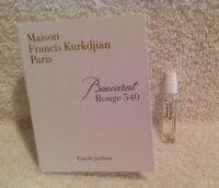 Maison Francis Kurkdjian Paris Baccarat Rouge 540 Edp Sample Spray 0.06 Oz