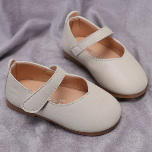 Cute Toddler Infant Kids Baby Girls Short Princess Shoes Antil-slip Solid Shoes