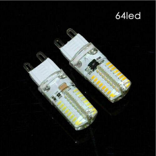G9 led 3014 LED 110V 220V 6W 9W Cold White Light 360 degree LED bulbs model th