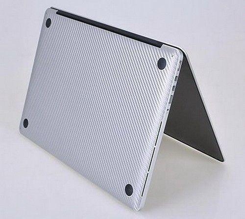 Carbon Fiber Sticker Skin Cover Screen Guard Protector for MacBook Pro 15 A1398