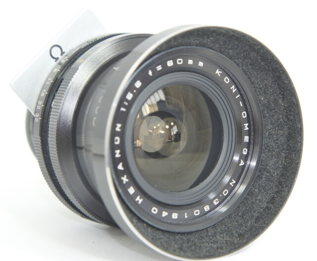 KONI OMEGA HEXANON 60mm f5.6 60/5.6 WIDE ANGLE LENS FOR 6X7 RAPID