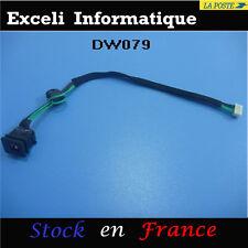 DC power jack socket cc fils câble chargeur connettore pc toshiba satellite c655