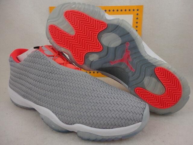 Nike Air Jordan Future Low, Wolf Grey / Infrared 23, Ice, 718948 023 Sz 11.5