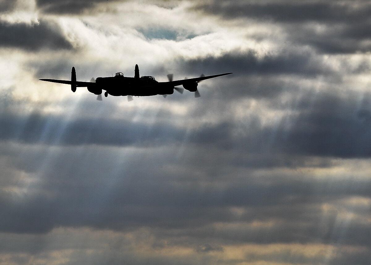 Battle of Britain Memorial Flight; Phantom Lancaster   Photo Print