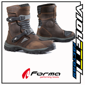 STIVALE FORMA ADVENTURE LOW BROWN IMPERMEABILI OFF ROAD ENDURO FORC50W