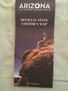 Official Arizona State Travel Road Highway Map Vacation Brand New FREE SHIPPING!