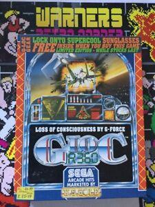 Details about Commodore Amiga 500 Retro gaming Game G Loc Ltd Edition  Glasses Inc Boxed Cib