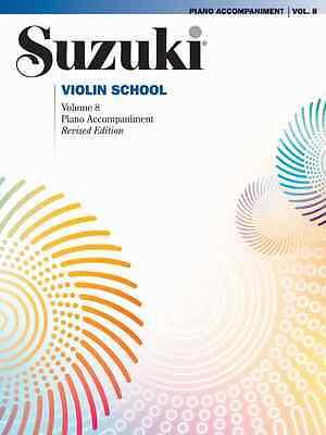 SUZUKI CELLO SCHOOL VOLUME 7-PIANO ACCOMPANIMENT REVISED EDITION BRAND NEW SALE!