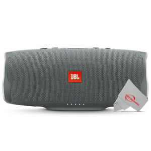 JBL Charge 4 Portable Bluetooth Speaker (Gray Stone)