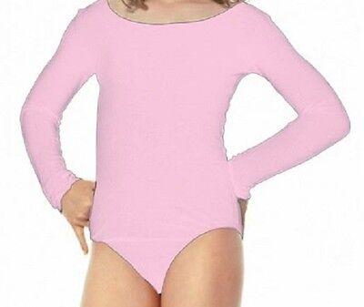Violet Purple Short Sleeve Leotard 7-10 Mondor 496 Child/'s Medium