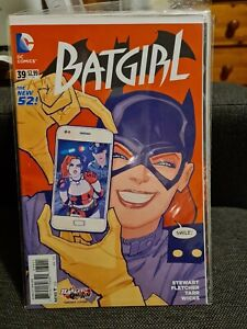 BATGIRL #39 Cliff Chiang Harley Quinn Variant