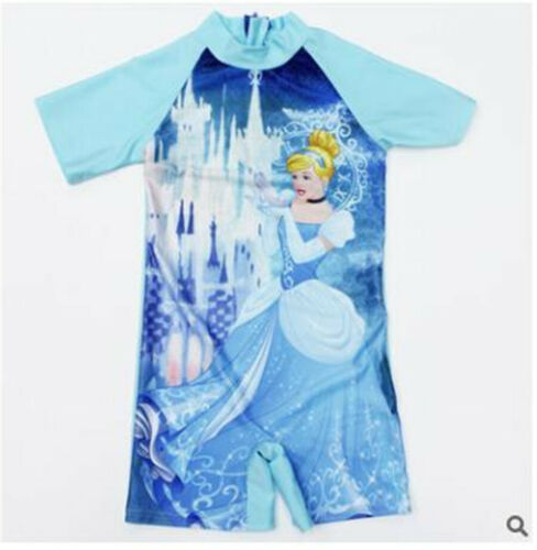 Dolls Kids Girls Swimwear Swimming Bathing Suit for Age 3-8 Y Costume Bikini UK