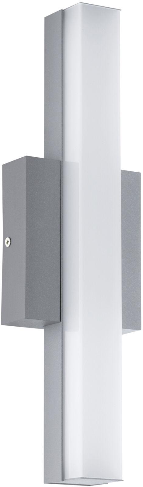 Eglo LED Außen-Wandleuchte Acate - silber