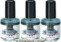 3 Bottles Inm - Out The Door Fast Drying Nail Top Coat 0.5oz = 15ml