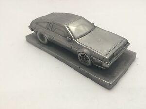 Delorean-Plain-Bonnet-Pewter-Effect-1-43-Scale-Model-Car-Handmade-In-Sheffield