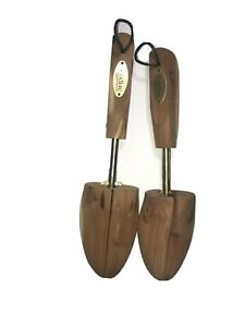 Shoe Tree Pair Woodlore Adjustable Men's Cedar Medium 8 - 9.5 M US