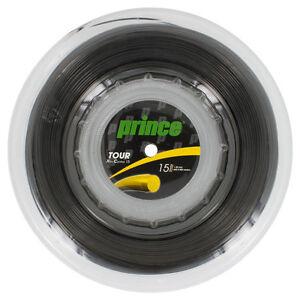 Prince Tour Xtra Contrôle 1,35 Mm 15 L Tennis Cordes 200m Bobine-afficher Le Titre D'origine
