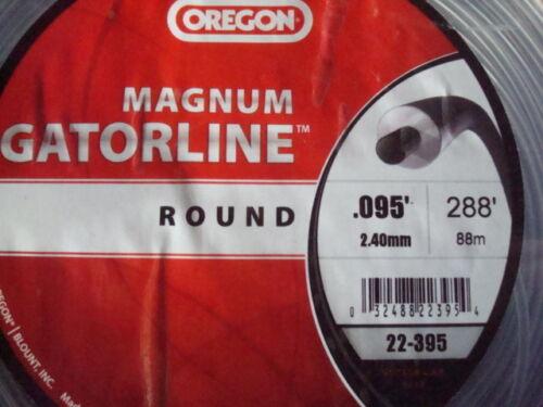 Echo Oregon Heady Duty # 95 Trimmer Magnum Gatorline ROUND Gator Line 288 Ft