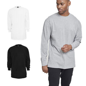 col et rond shirt Classics T Tall manches ᄄᄂ Urban ᄄᄂ longues uTF13KJcl