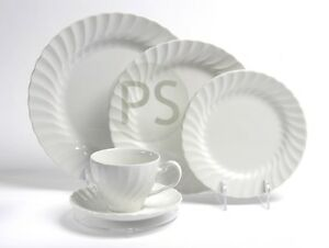 Place Setting Clear Display Stand : 3 & 5 Piece: Plate, Dinner, Side ...