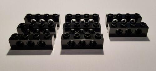 n70 Lego ® 8 x 3701 agujeros piedra 1 x 4 negro 370126 técnica Black