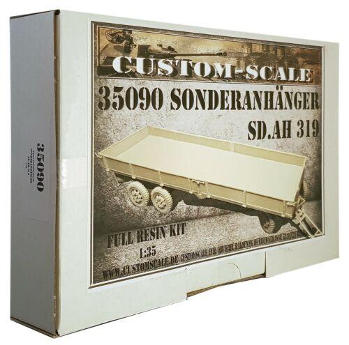 319 Kit Custom-Scale 1:35 35090 Deutscher Sonderanhänger Sd.Ah