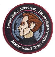 "Star Wars 501st Legion Adm Tarkin/Steve Stanton 4"" Patch-FREE S&H(EBPA-SW-KL-02)"