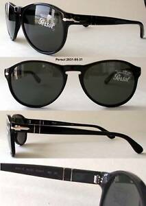 275ac52f491 Image is loading PERSOL-2931-SUNGLASSES-Robert-Pattinson-Tom-Cruise-BLACK-
